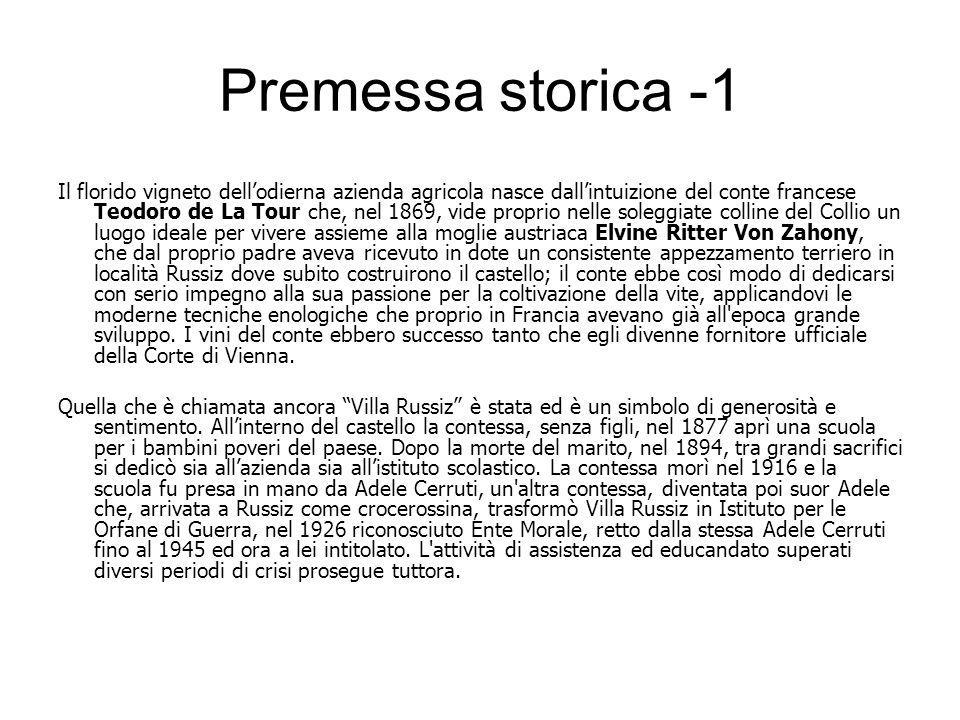 Premessa storica -1