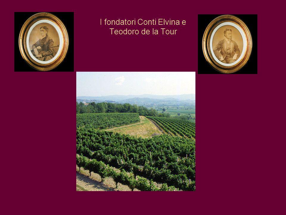 I fondatori Conti Elvina e Teodoro de la Tour