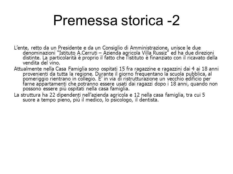 Premessa storica -2