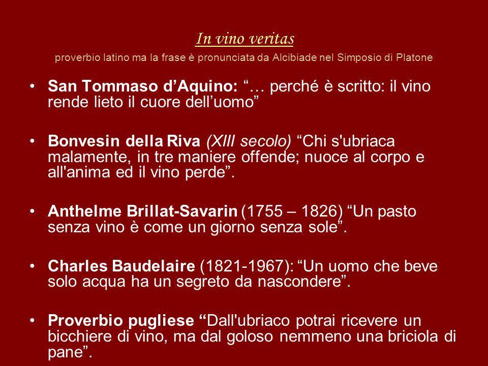 In vino veritas proverbio latino ma la frase è pronunciata da Alcibiade nel Simposio di Platone