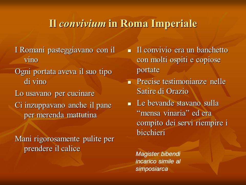Il convivium in Roma Imperiale