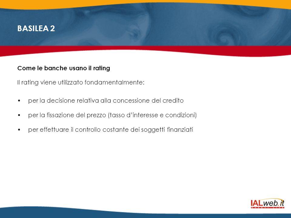 Come le banche usano il rating
