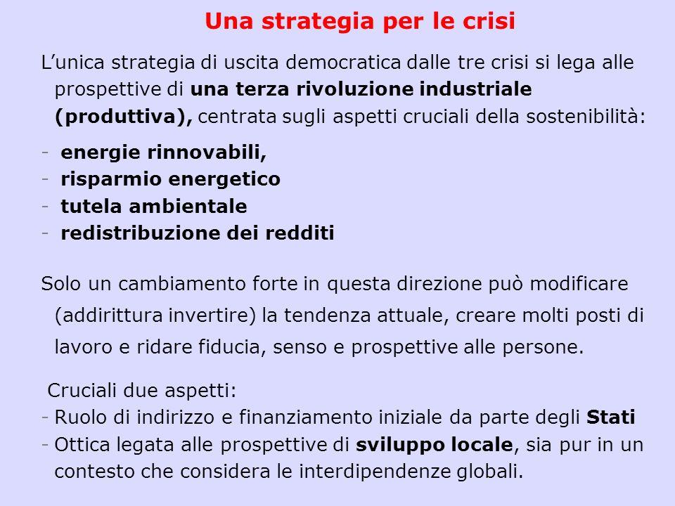 Una strategia per le crisi