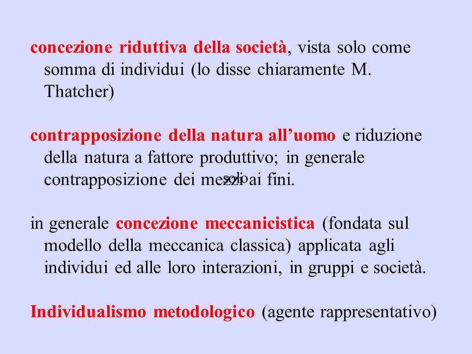 Individualismo metodologico (agente rappresentativo)