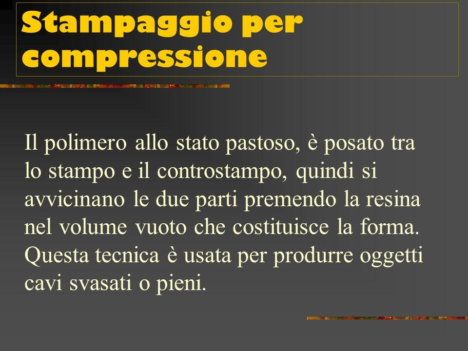 Stampaggio per compressione