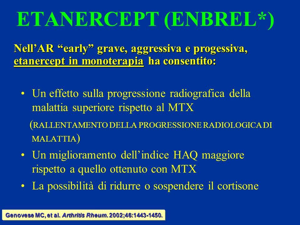 Genovese MC, et al. Arthritis Rheum. 2002;46:1443-1450.