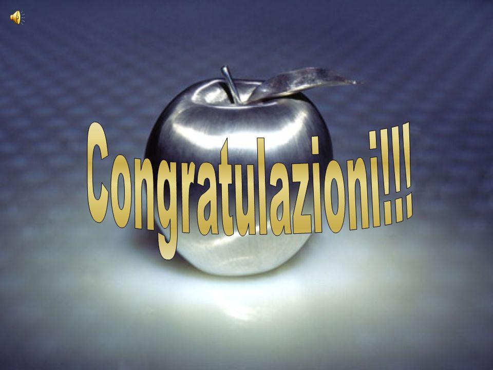 Congratulazioni!!!