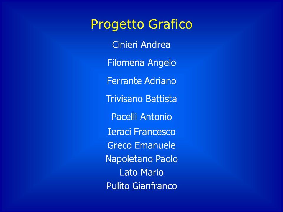 Progetto Grafico Cinieri Andrea Filomena Angelo Ferrante Adriano