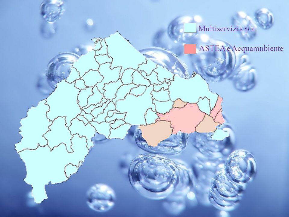 Multiservizi s.p.a. ASTEA e Acquamnbiente