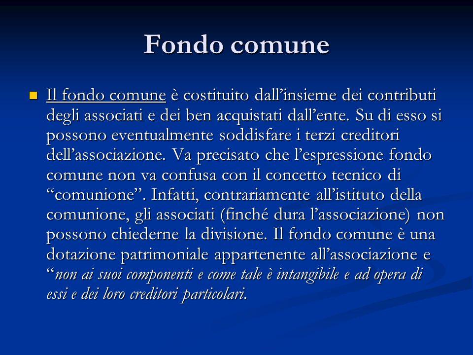 Fondo comune