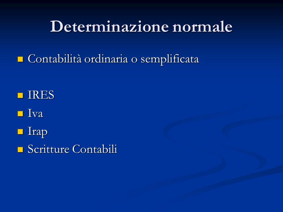 Determinazione normale