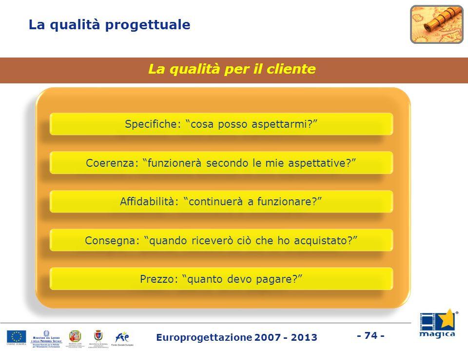 La qualità per il cliente