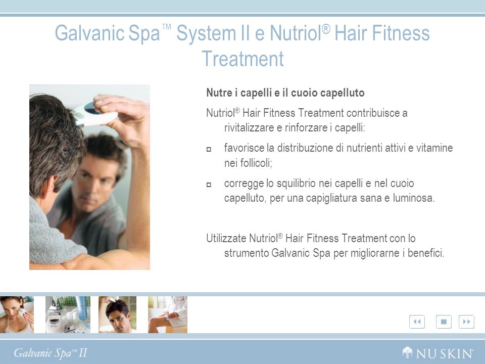 Galvanic Spa™ System II e Nutriol® Hair Fitness Treatment