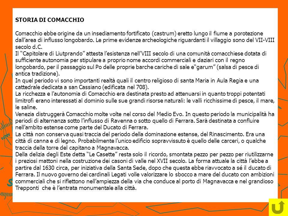 STORIA DI COMACCHIO