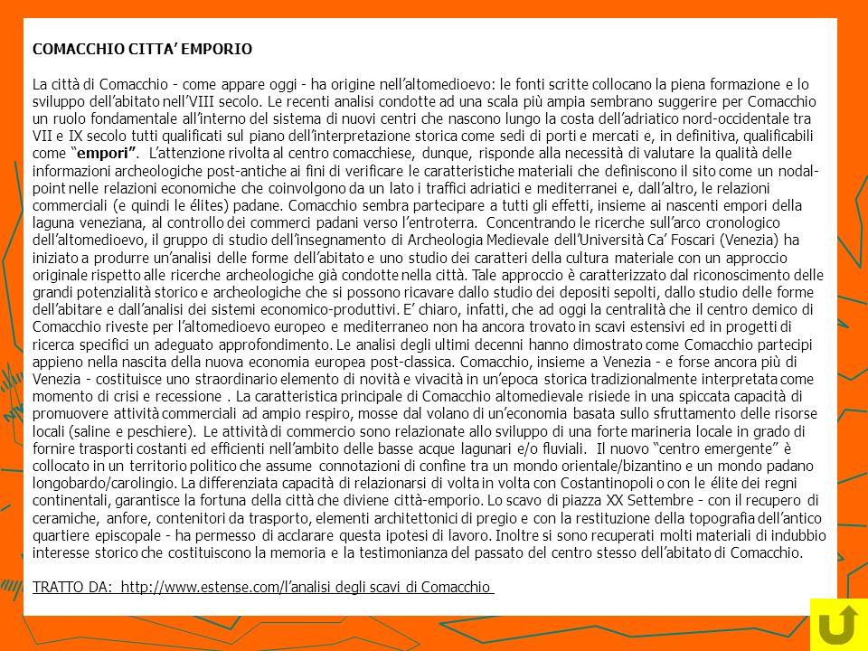 COMACCHIO CITTA' EMPORIO