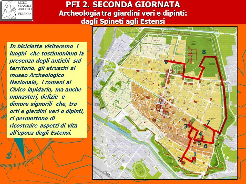 PFI 2. SECONDA GIORNATA Archeologia tra giardini veri e dipinti: dagli Spineti agli Estensi