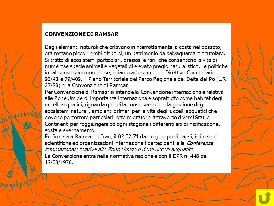 CONVENZIONE DI RAMSAR