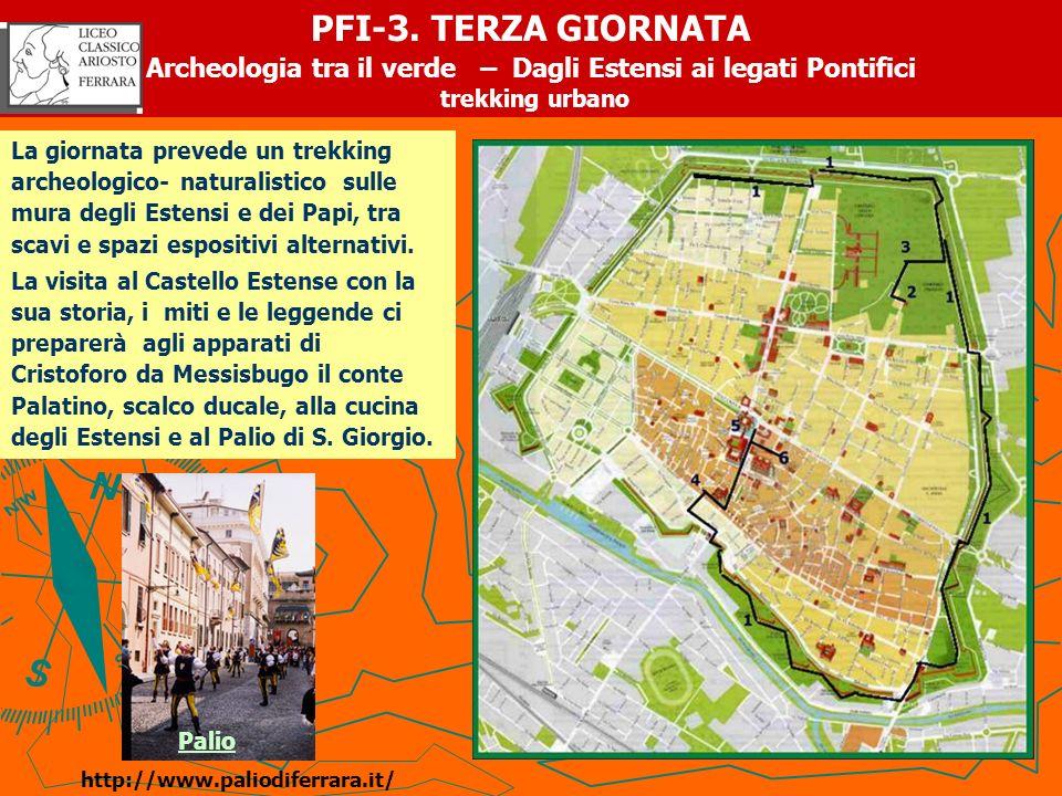 Archeologia tra il verde – Dagli Estensi ai legati Pontifici