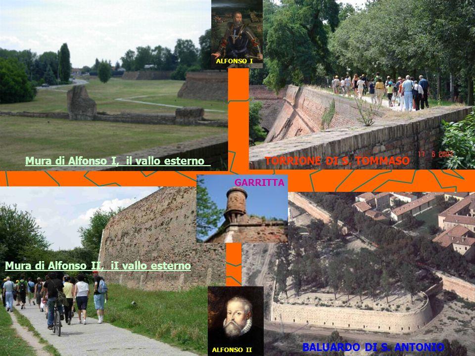 Mura di Alfonso II, iI vallo esterno