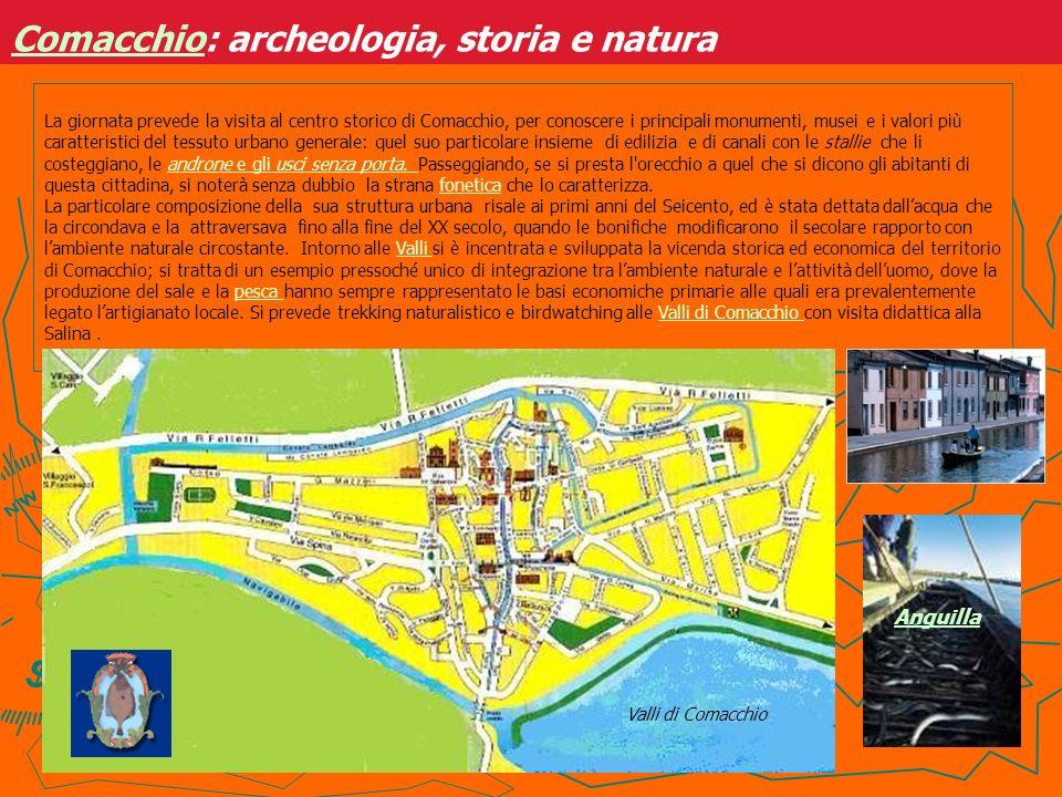 Comacchio: archeologia, storia e natura