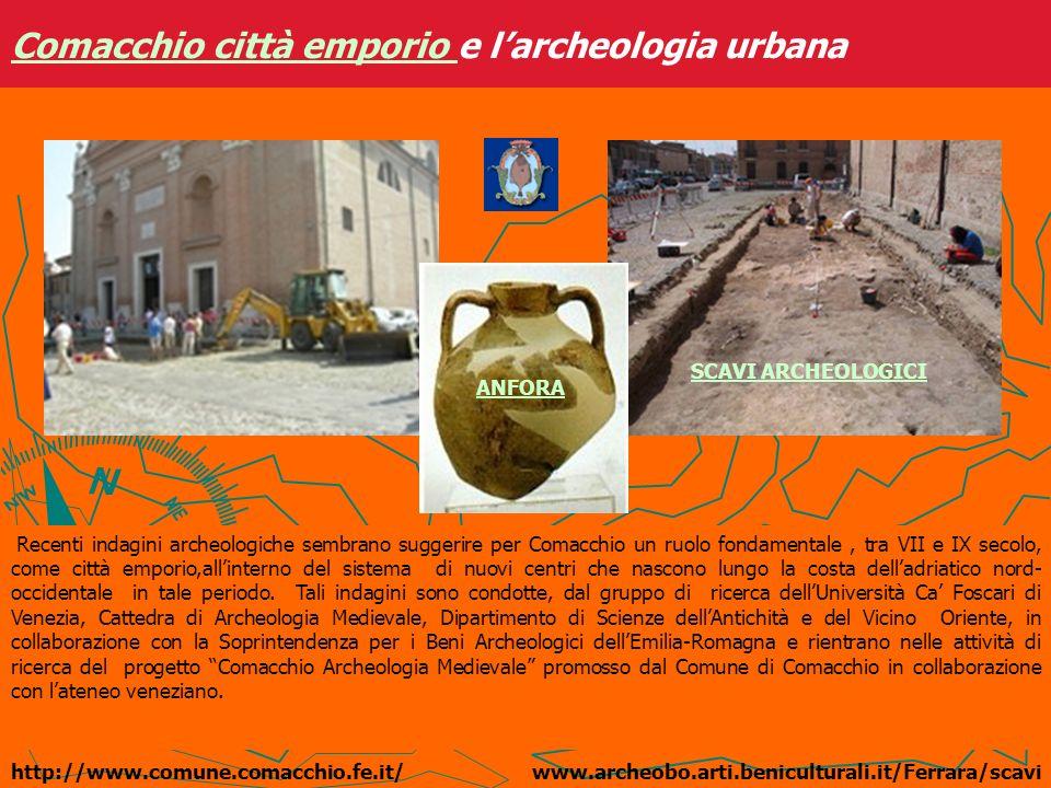 Comacchio città emporio e l'archeologia urbana