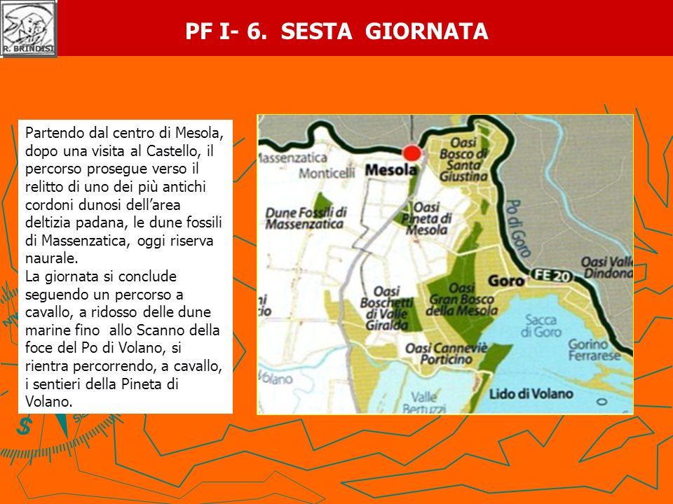PF I- 6. SESTA GIORNATA