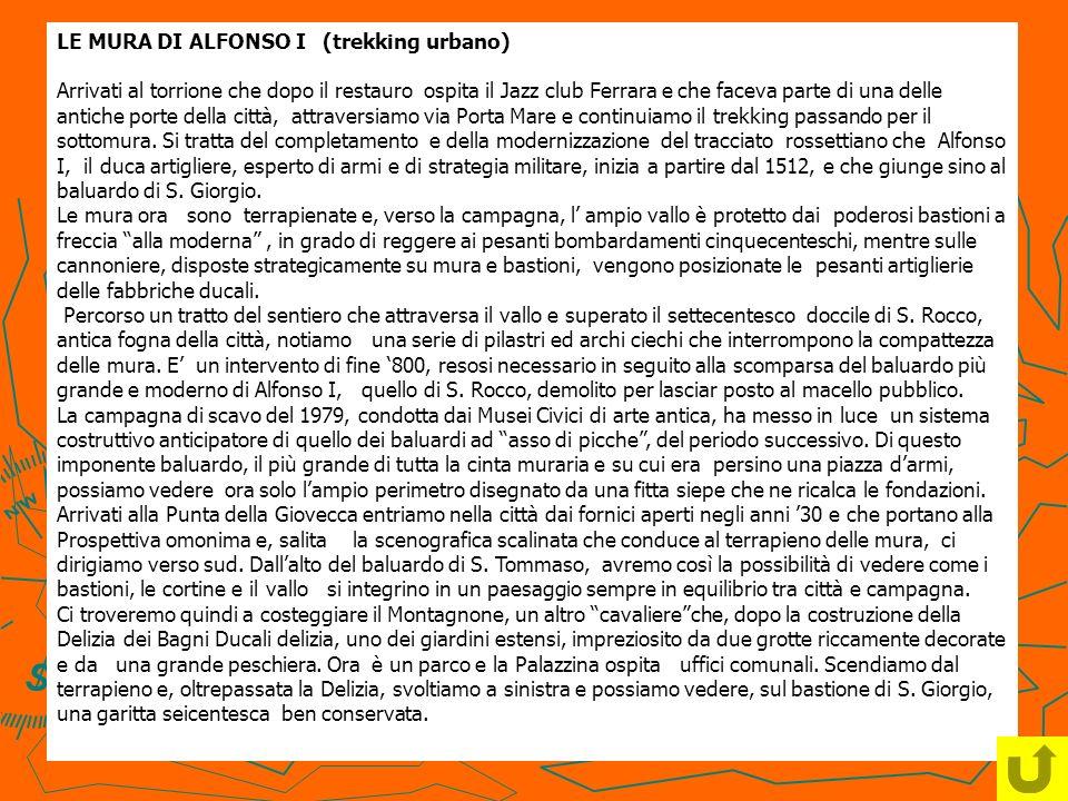 LE MURA DI ALFONSO I (trekking urbano)