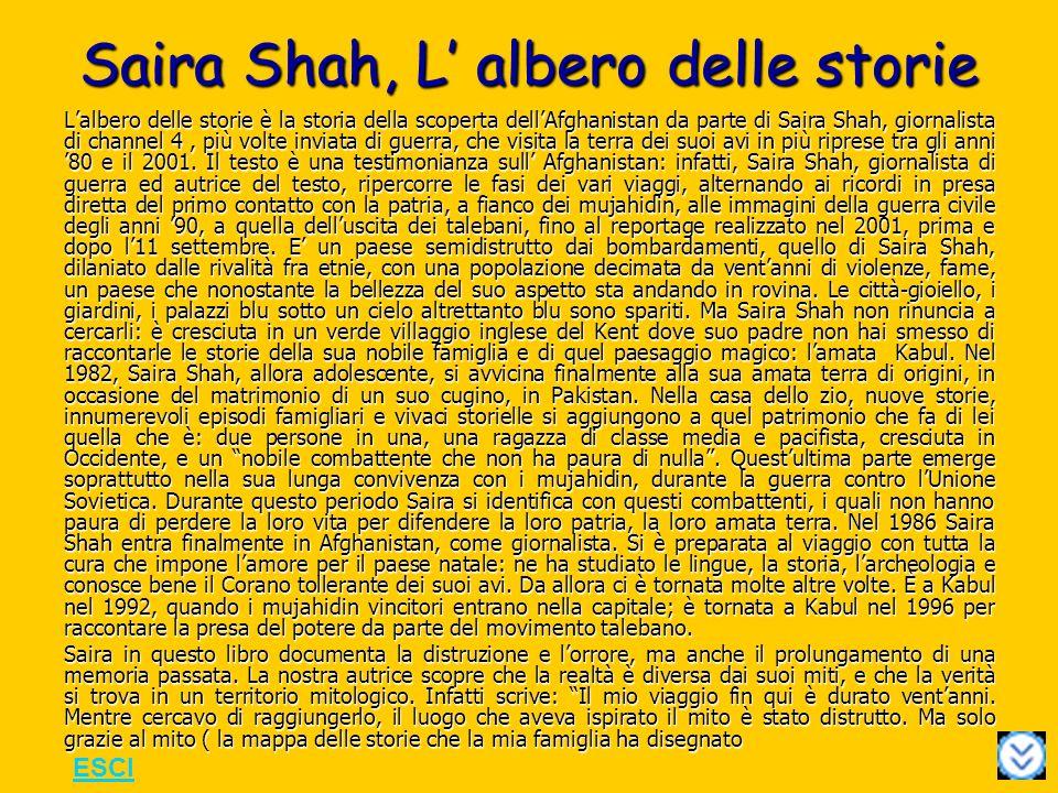 Saira Shah, L' albero delle storie