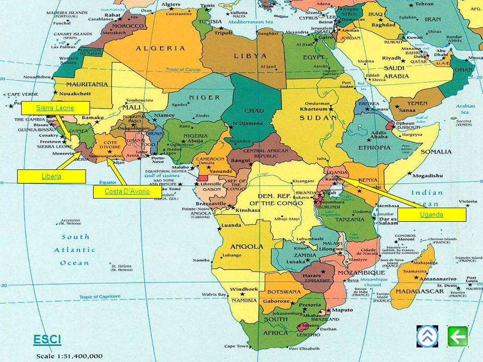 Sierra Leone Liberia Costa D'Avorio Uganda ESCI
