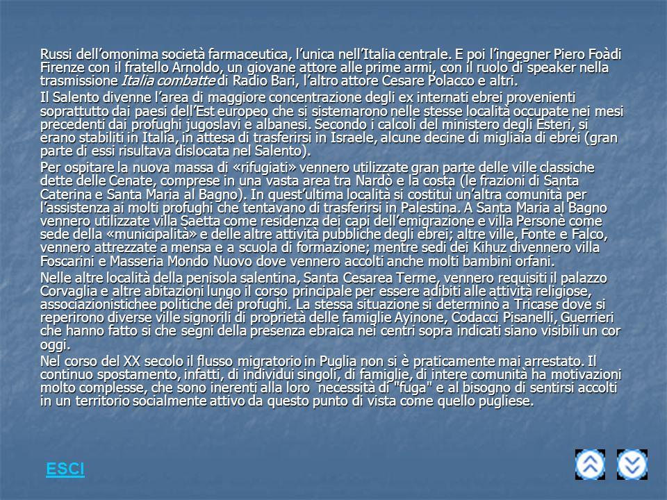 Russi dell'omonima società farmaceutica, l'unica nell'Italia centrale