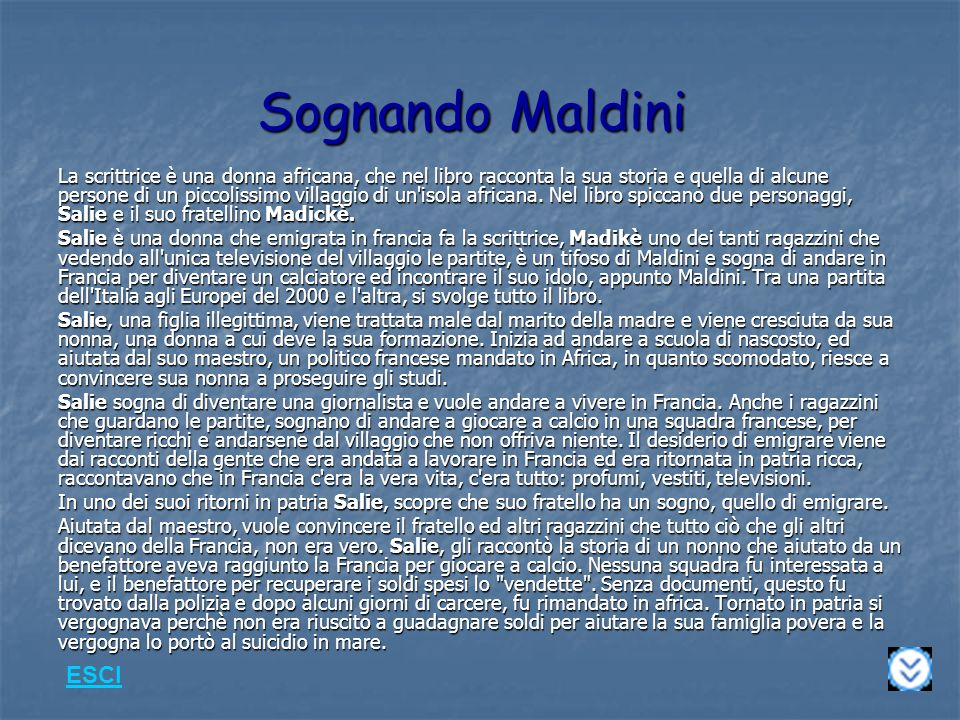 Sognando Maldini