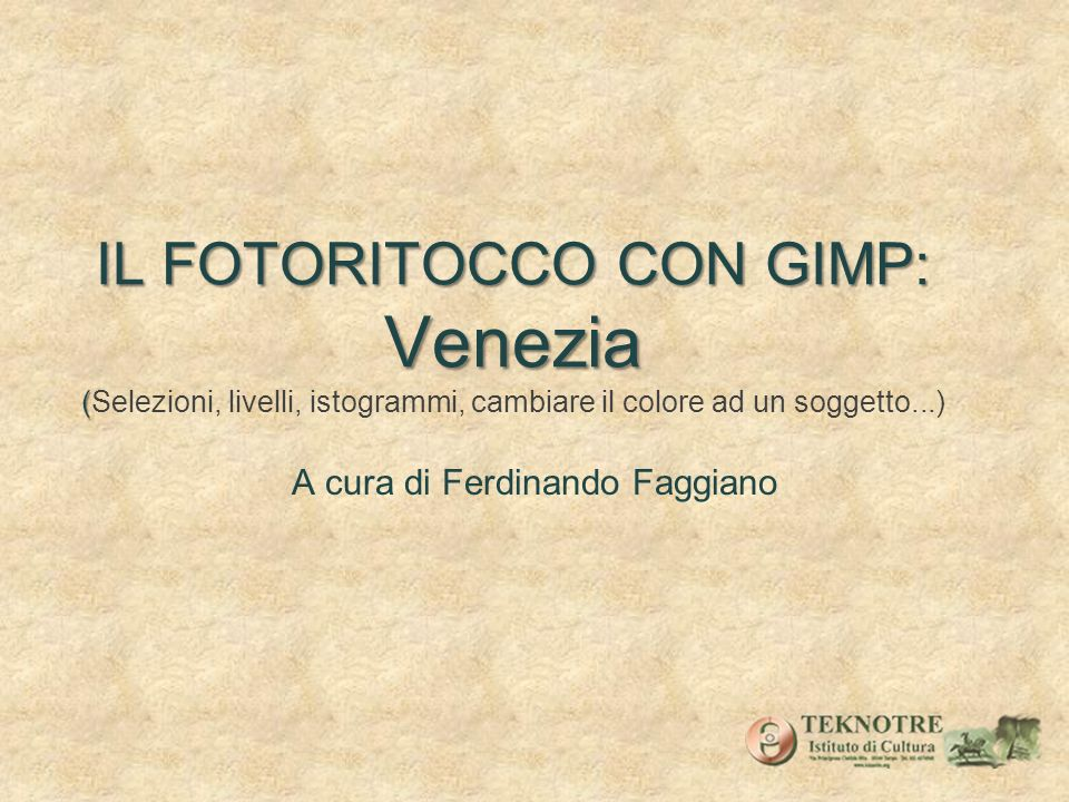 A cura di Ferdinando Faggiano