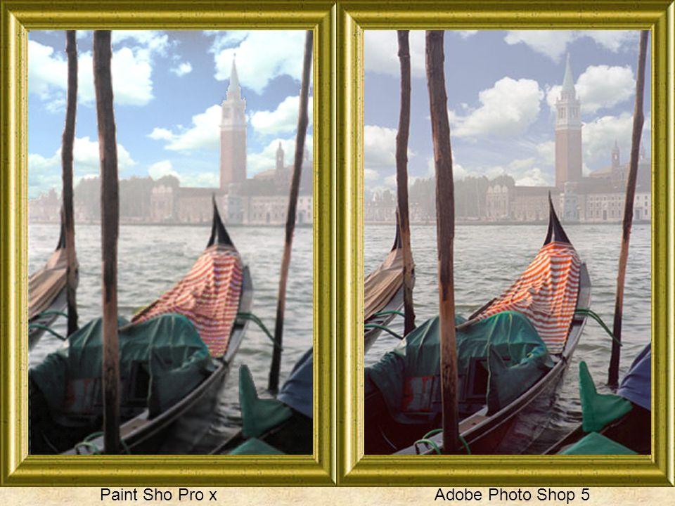 Paint Sho Pro x Adobe Photo Shop 5