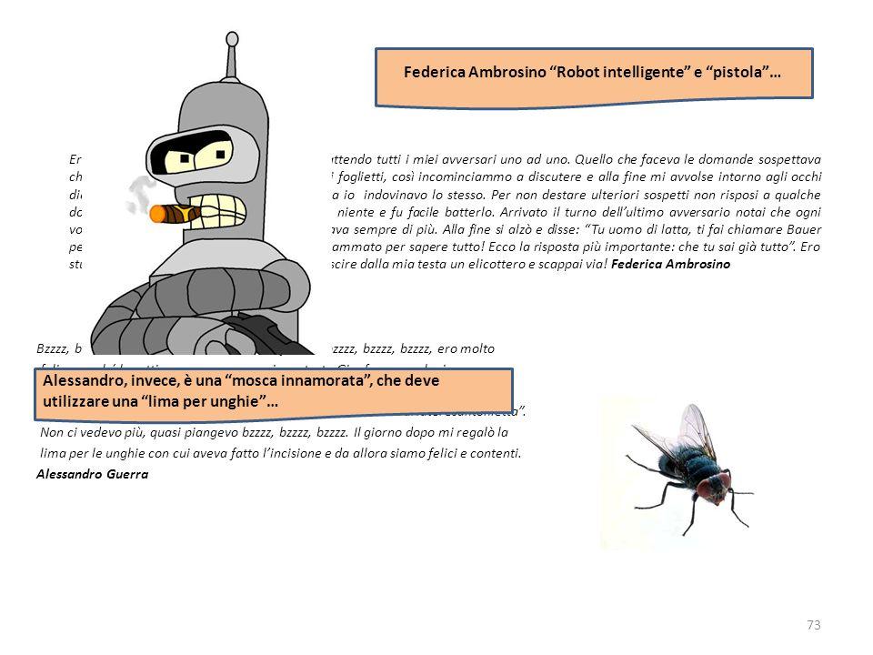 Federica Ambrosino Robot intelligente e pistola …