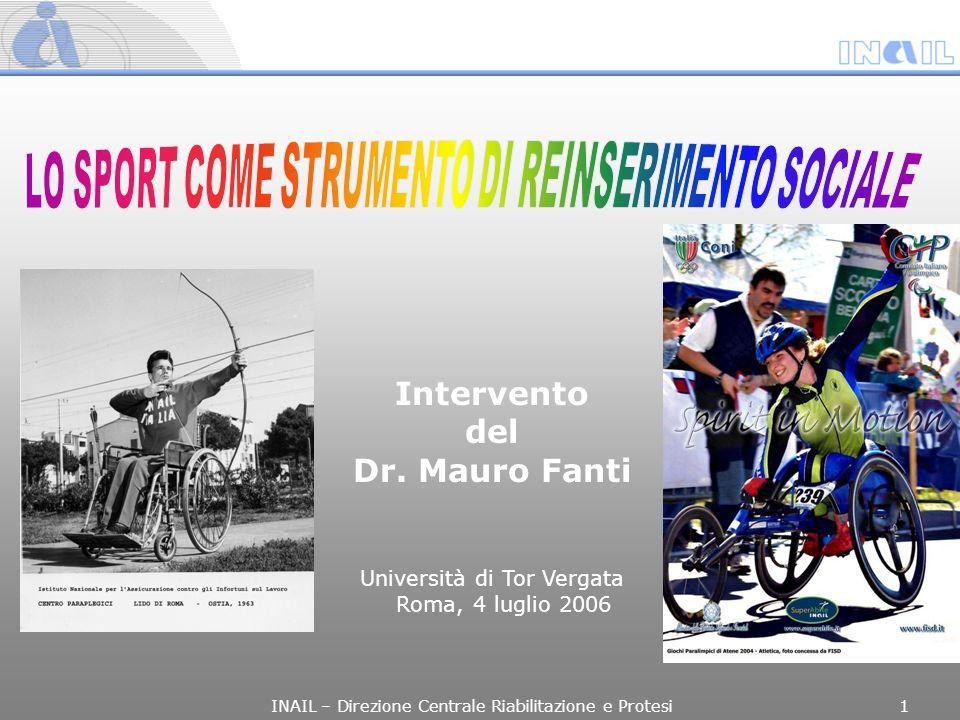 Intervento del Dr. Mauro Fanti