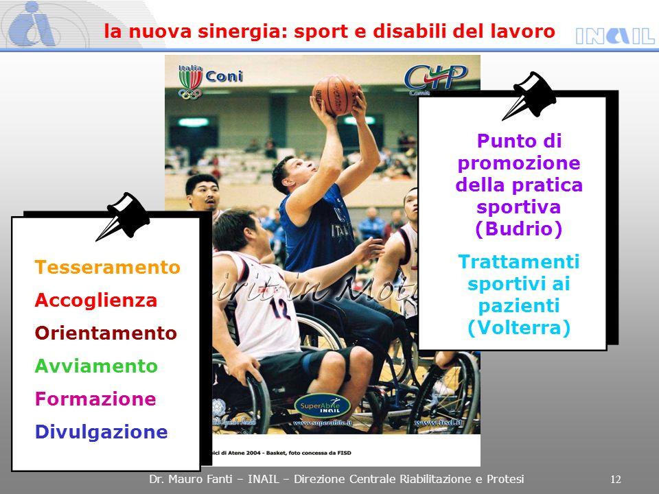 la nuova sinergia: sport e disabili del lavoro