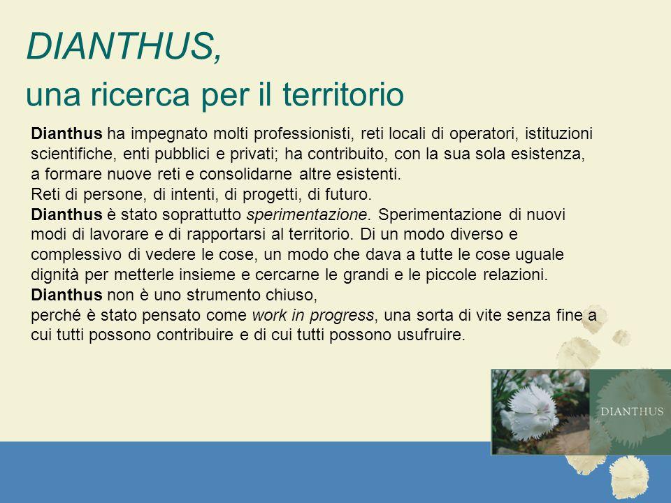 DIANTHUS, una ricerca per il territorio