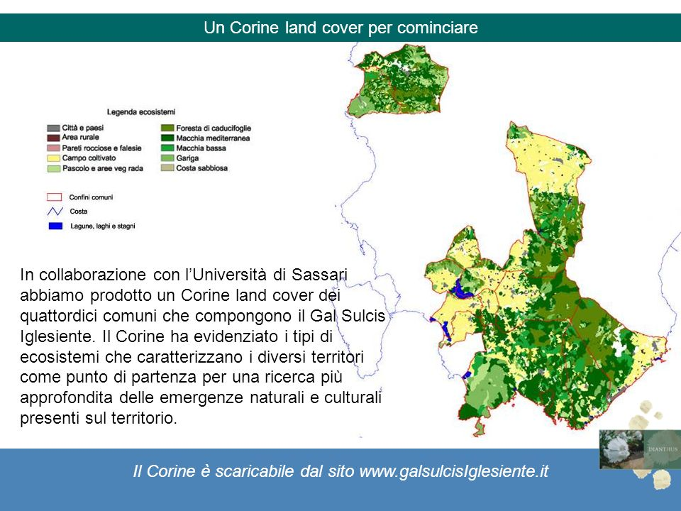 Un Corine land cover per cominciare