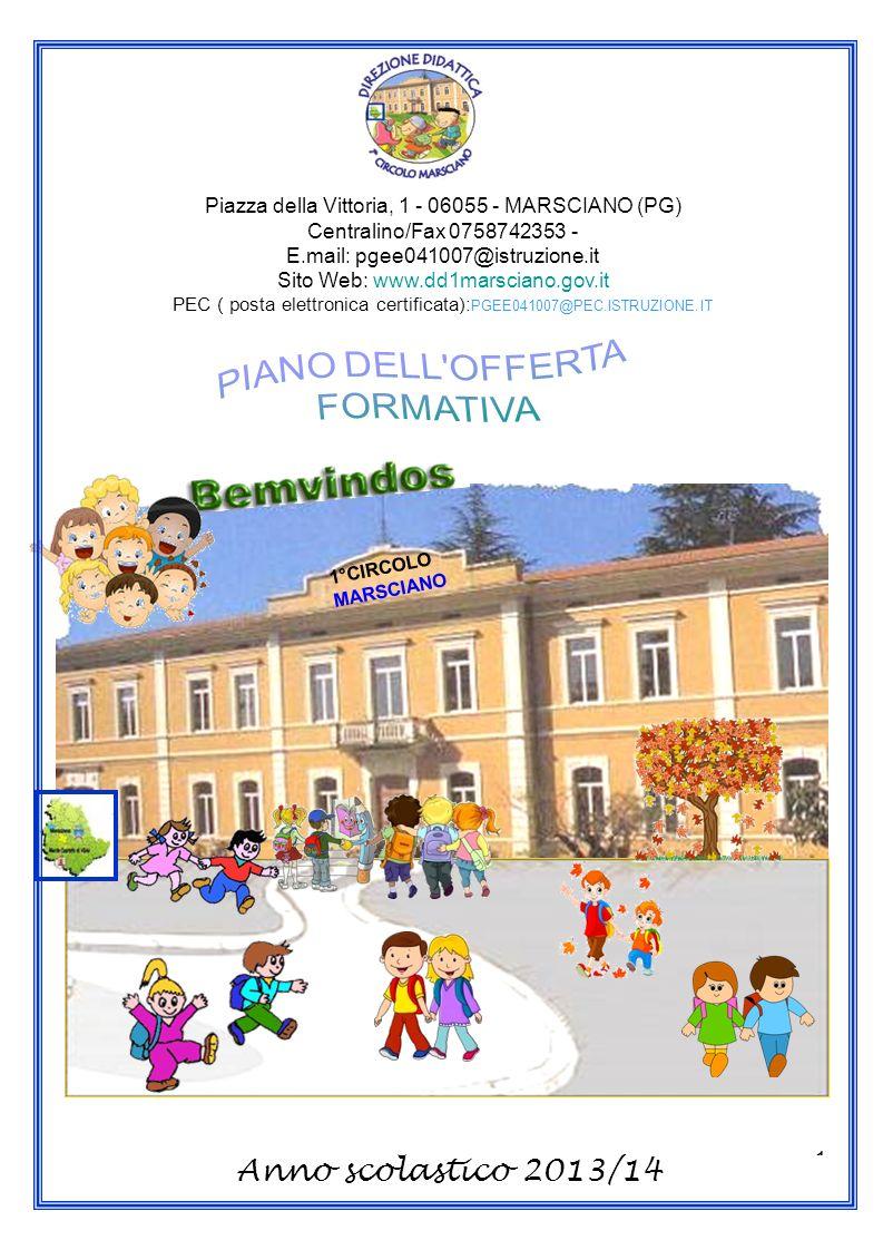 Anno scolastico 2013/14 PIANO DELL OFFERTA FORMATIVA