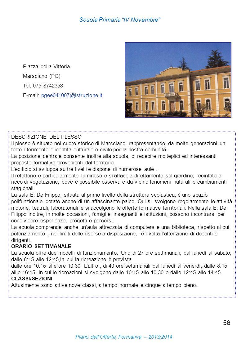 Scuola Primaria IV Novembre