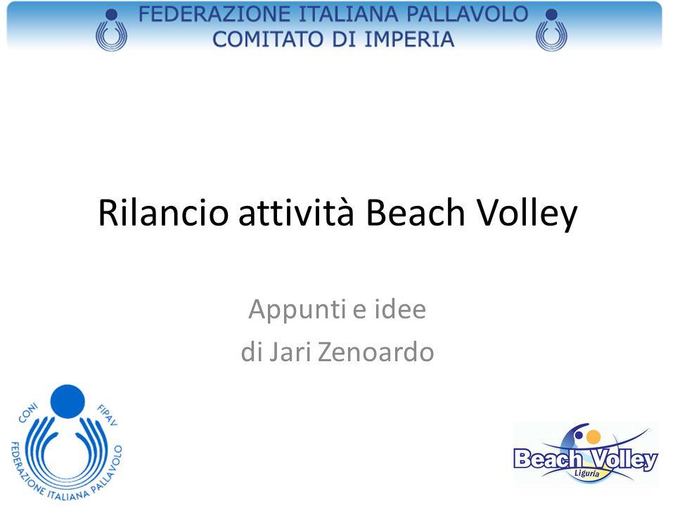 Rilancio attività Beach Volley