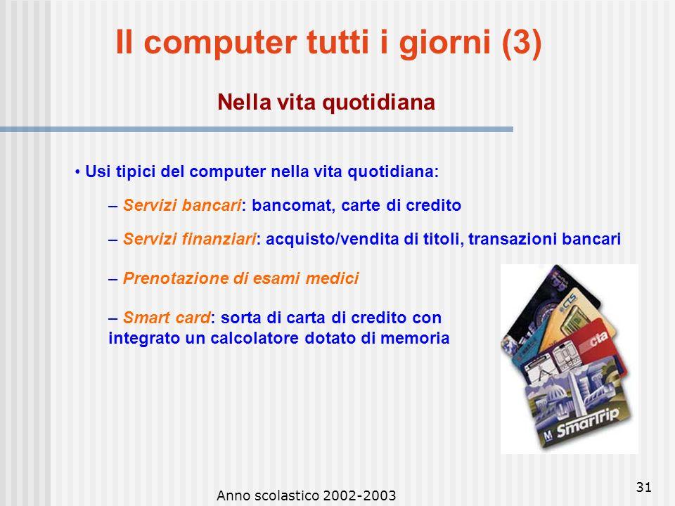 Il computer tutti i giorni (3)