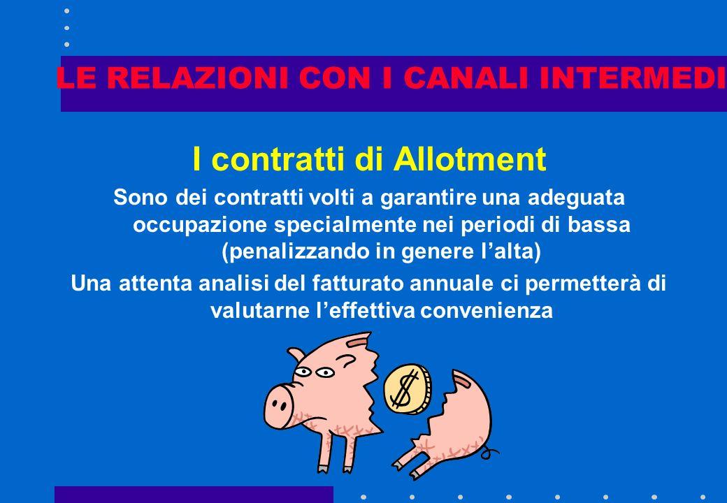 LE RELAZIONI CON I CANALI INTERMEDI