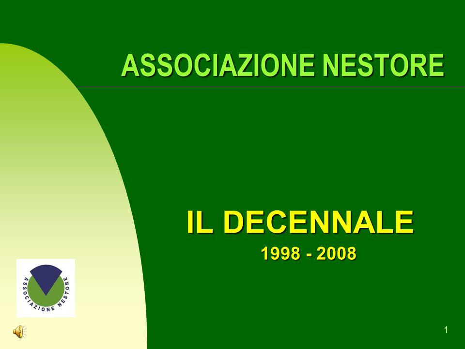 ASSOCIAZIONE NESTORE IL DECENNALE 1998 - 2008
