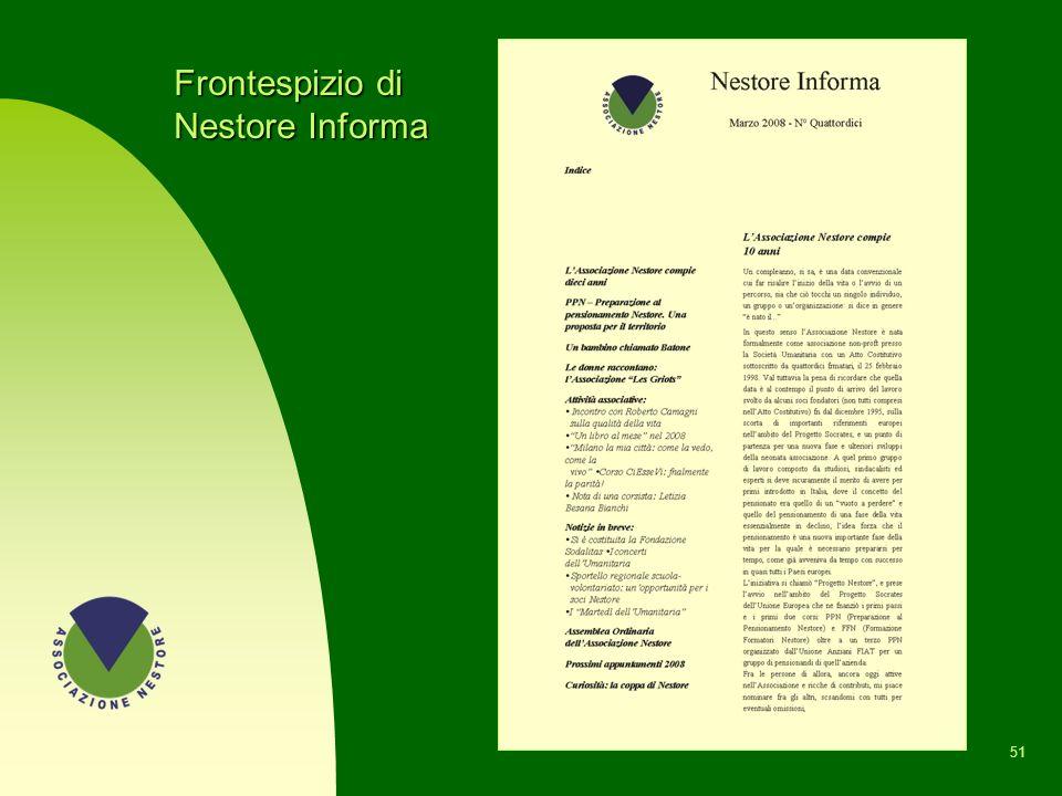 Frontespizio di Nestore Informa