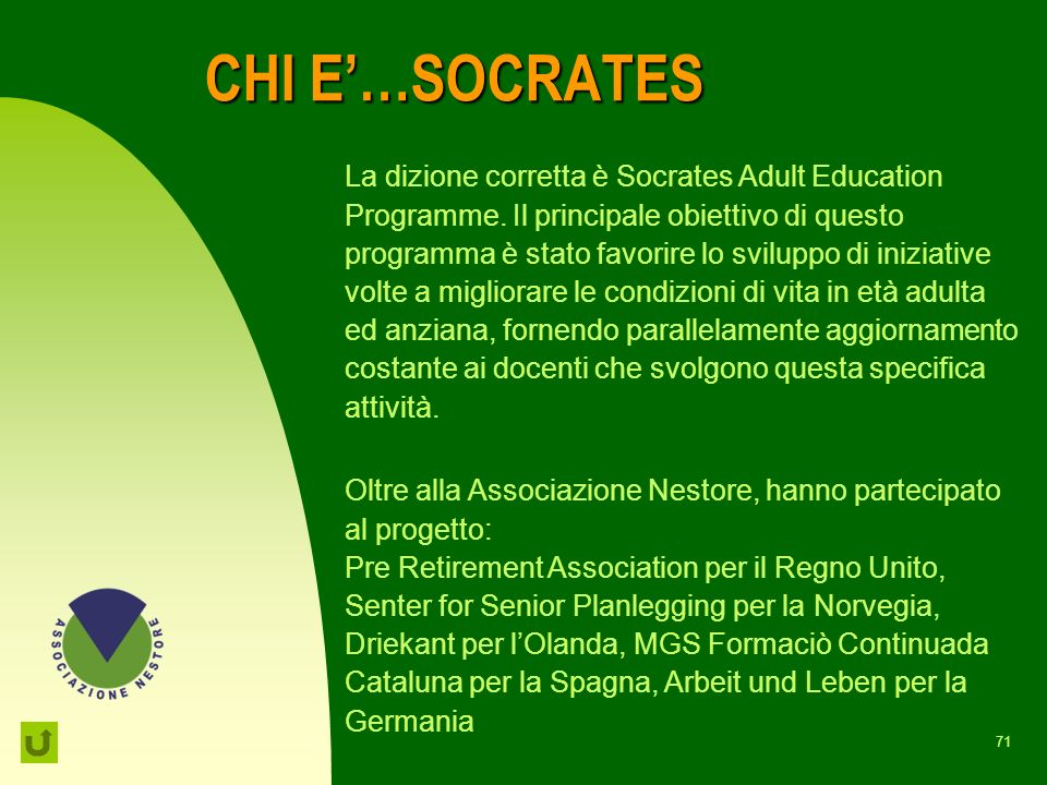 CHI E'…SOCRATES