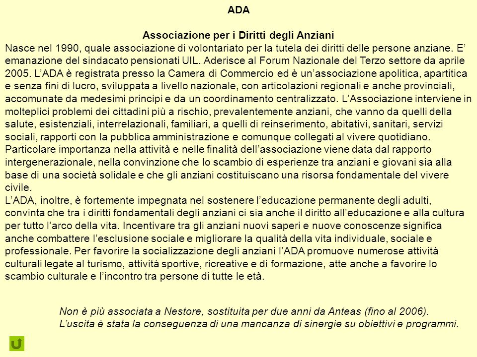 Associazione per i Diritti degli Anziani