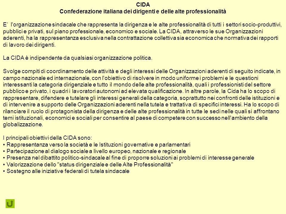 Confederazione italiana dei dirigenti e delle alte professionalità