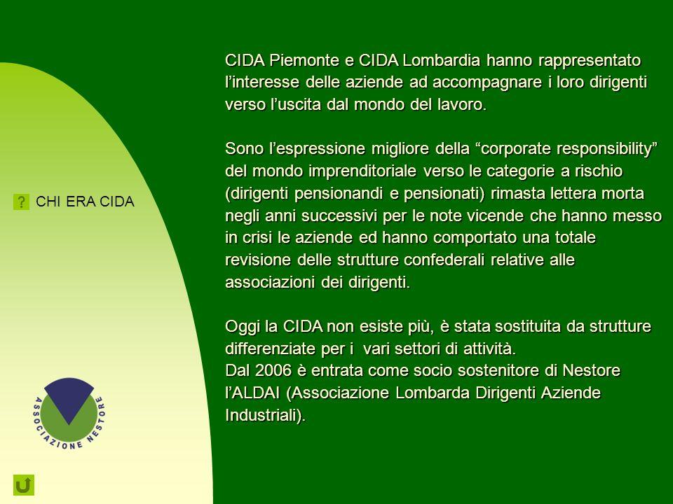 CIDA Piemonte e CIDA Lombardia hanno rappresentato l'interesse delle aziende ad accompagnare i loro dirigenti verso l'uscita dal mondo del lavoro.