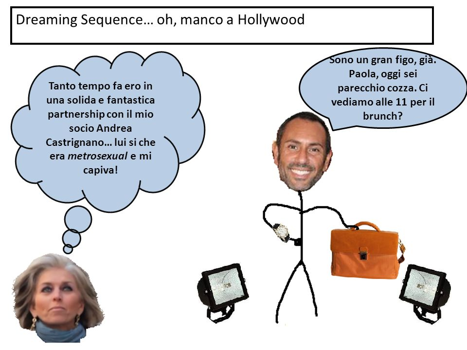 Dreaming Sequence… oh, manco a Hollywood